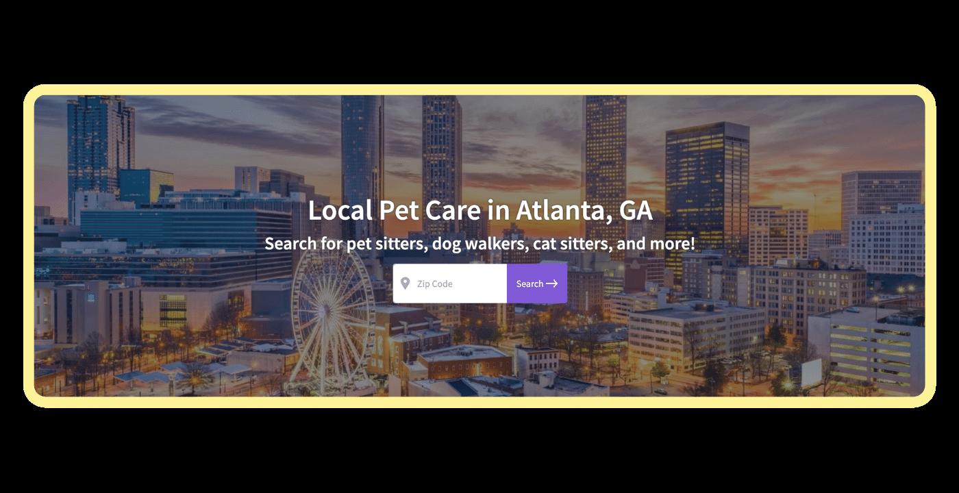 Find a pet care pro - Atlanta