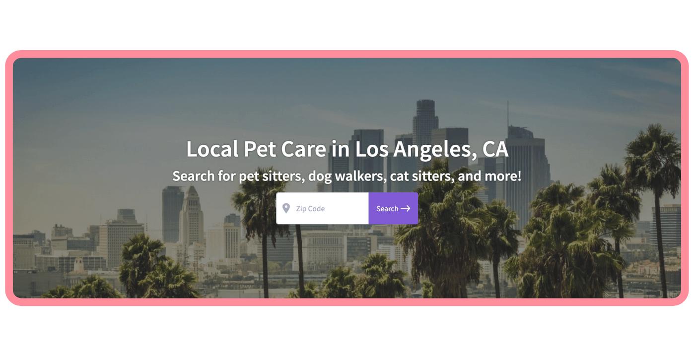 Find a pet care pro - LA Parks