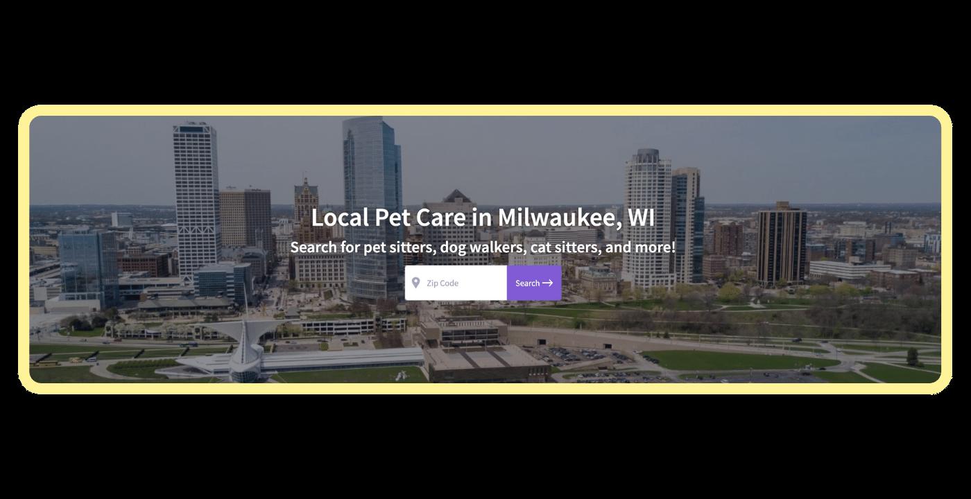 Find a pet care pro - Milwaukee