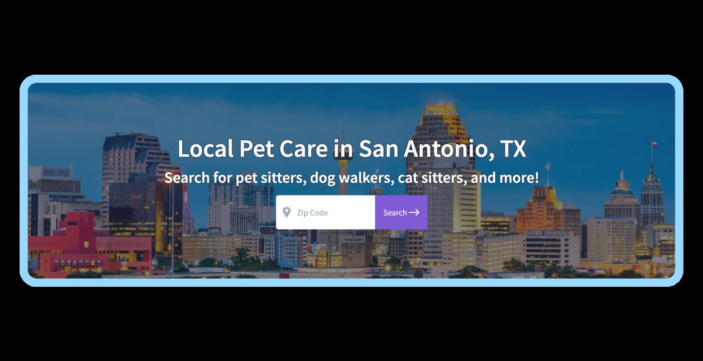 Find a pet care pro - San Antonio