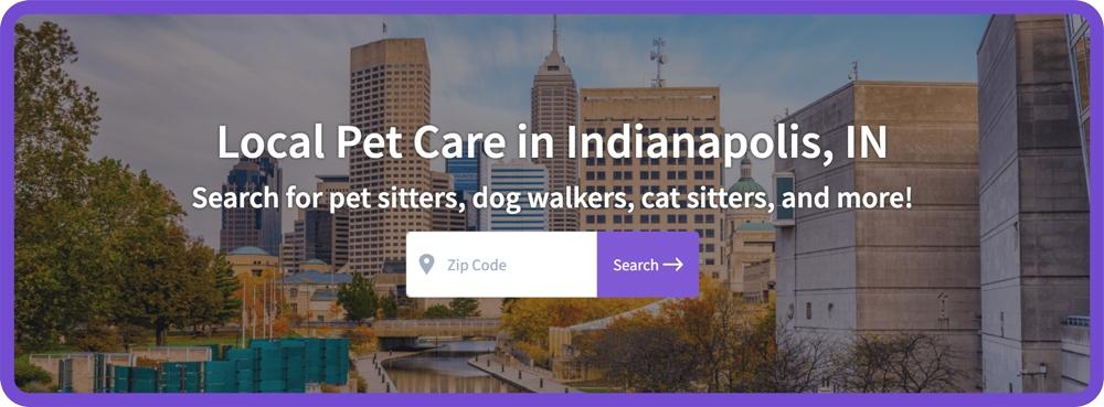 Find Local Pet Care - Indy CTA