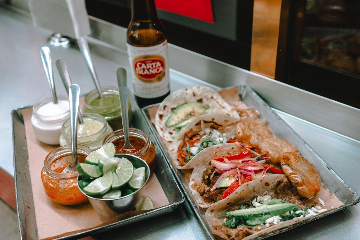 San Diego Dog-friendly restaurant tacos