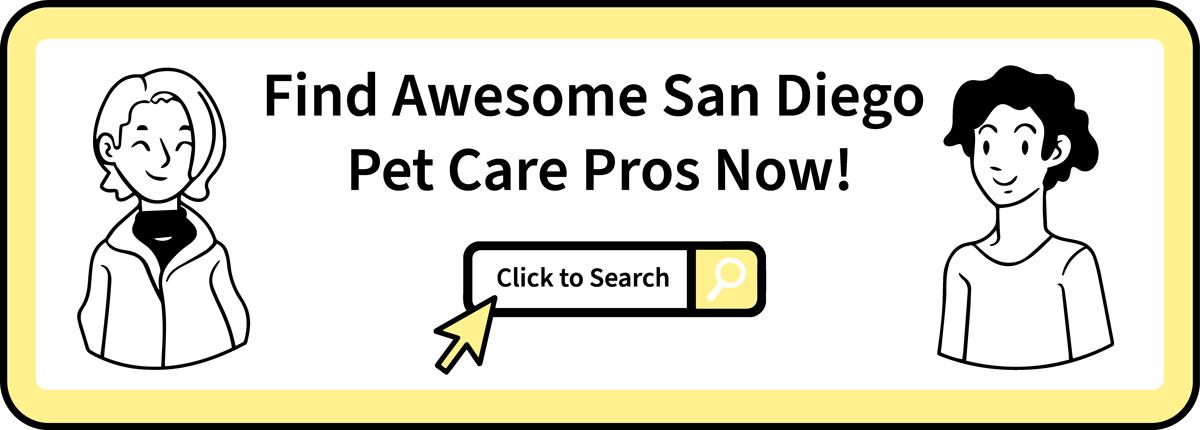 Find Local Pet Care - San Diego CTA